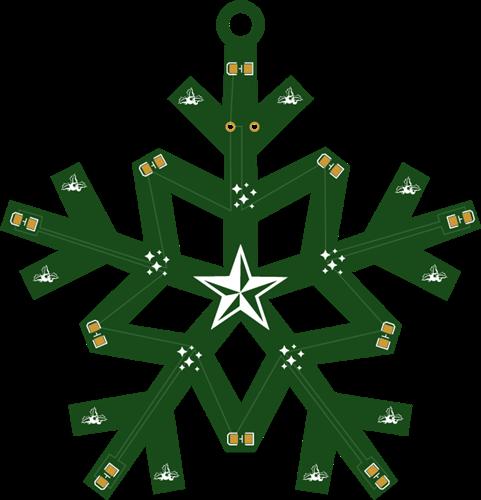SNOWFLAKES PCB