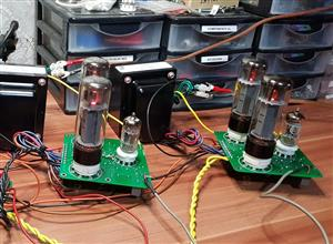 Push Pull Tube Amplifier