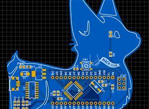 Cute Arduino UNO (Nano Pinout) / 328P