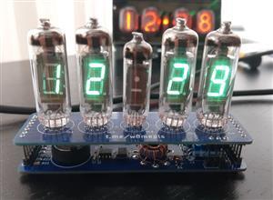 VFD Tube Clock