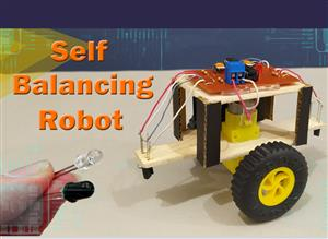 "Make Balancing Robot with IR Sensor ""DIY"""