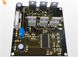 Sensorless BLDC Motor Driver