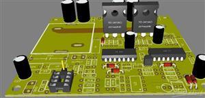 Amplificador clase D de 1250W RMS