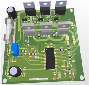 Sensorless BLDC Motor Driver for Drones