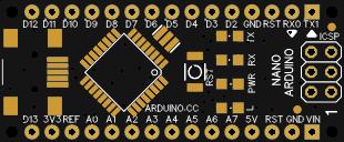 Arduino NANO v3.3 black
