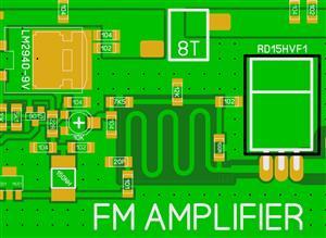 RD15HVF1 FM RF AMPLIFIER