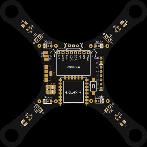 esp8266 12f based drone