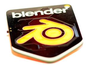 Blender Badge