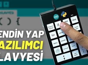 DIY YAZILIMCI KLAVYESi - DIY Programmer Keyboard