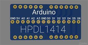 Arduino Hpdl1414 clock