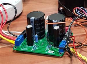 Power supply for tube amplifiers