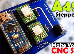 Arduino Nano and A4988 Stepper Motor Controller
