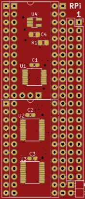 Dennis RGB to HDMI Adapter for Amiga 500 with Raspberry Pi Zero