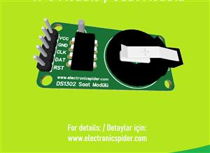 DS1302 RTC Real Clock Module