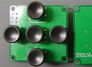 5 Button Board