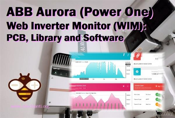Inverter Aurora ABB (Power One) Web Monitor (WIM): server PCB