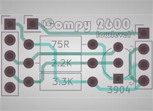 Compy 2600 - Atari 2600 Composite Mod (NTSC)