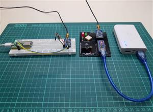 GPS tracker without cellular network with LORA module