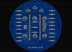 Arduino Bluetooth Controlled LED Light Bulb by Dishan N R