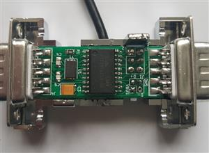 USB Joystickadapter from Hexagon (SMD Version)