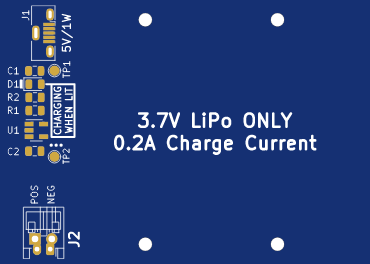 HP Classic Calculator LiPo Battery Pack V2