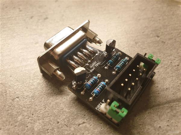 C64 JoyKEY (Atari 7800 adapter)