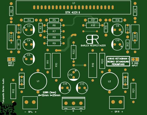 STK4231 II Amplifier