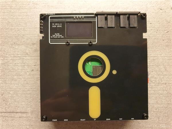 C64 Pi1541-II Faceplate (variant B)