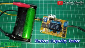 Lithium Ion Battery Capacity Tester