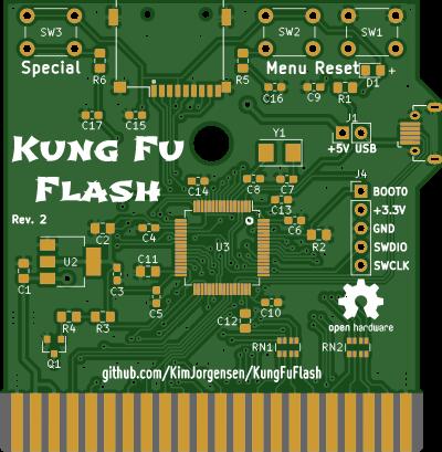 KungFuFlash Cartridge for Commodore 64