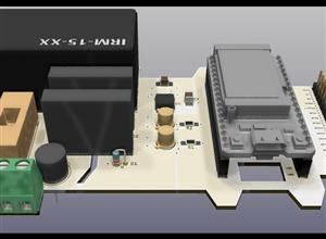 WiFi LoRa 32 V2 Prototyping Bassic Board