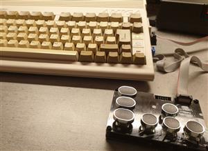 C64 JoyKEY (IDC to DB9)