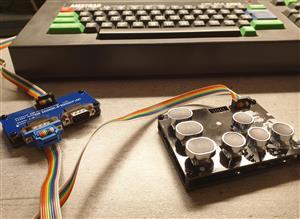 CPC464 Joystick Splitter