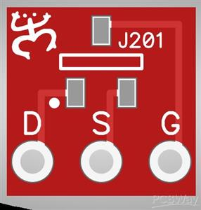 J201 SMD JFET Adapter
