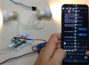 How to turn on lights with telegram and esp32 from anywhere in the world