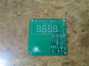 Home termometer 7 segments v1.0
