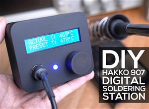 DIY Hakko 907 Digital Soldering Station