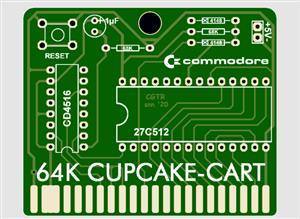 COMMODORE 64, 64K-CUPCAKE-CART