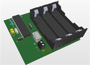 BLDC motor control with Pic16f877A via Bluetooth