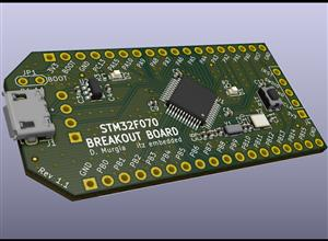 STM32F070 Breakout