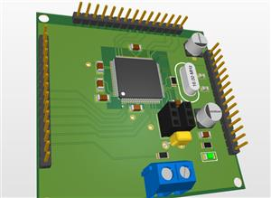 Tmc2209 Stepper Driver With Atmega2560 via RS485