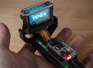 TENEX - Volumetric OLED Display Board