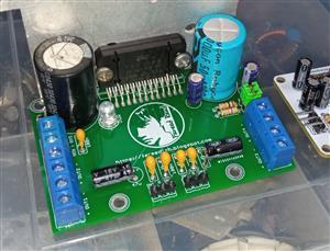 Amplifier 45 Watt 4 Channels