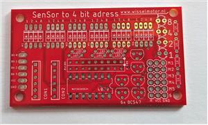 Sensor to 4 bit adress