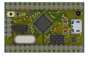STM32F103C8T7 dev board