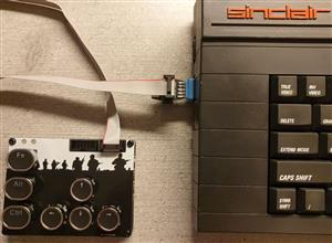 C64 JoyKEY (Sinclair adapter)