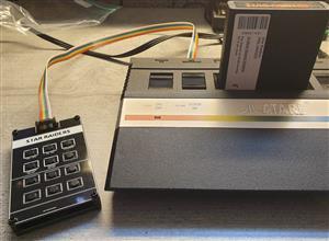 Atari 2600 Keyboard (Standard faceplate)