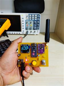 10kHZ-255MHz SIGNAL GENERATOR OLED LCD