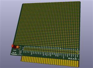 PC-XT ISA 8-bit retro Protoboard