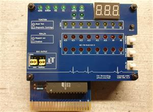 C64 BlinkenDiag (faceplate)